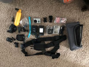 GoPro Hero3 Silver with Accesories for Sale in Denver, CO