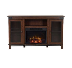 """Flamelux 60 In. Wakefield Media 65"""" TV Stand in Vintage Cherry A0-8888 for Sale in St. Louis, MO"""
