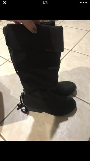 Brand New Girls Black Boots for Sale in Cecil, PA