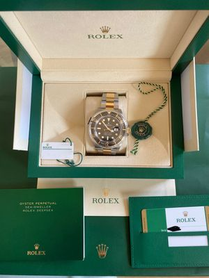 Brand New 2019 Rolex Seadweller SD43 Two Tone 18k gold ss for Sale in Los Angeles, CA