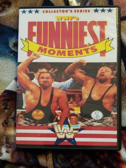 Wwf's Funniest Moments Dvd for Sale in Chicago,  IL