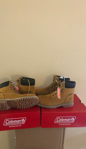Coleman WaterProof Workboots Size 8.5 and Size 9 $60.00 each pair for Sale in Dearborn Heights, MI