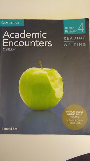 Academic encounter s 2nd Edition. for Sale in Miami, FL