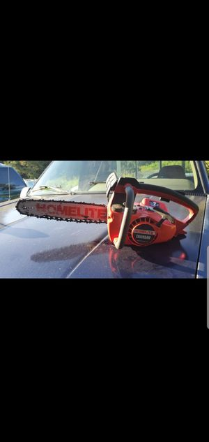 Vintage Homelite Chainsaw runs Great! Made in USA! for Sale in Granite Falls, WA