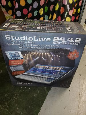 Studio Live Digital Mixer 24.4.2 for Sale in Washington, DC