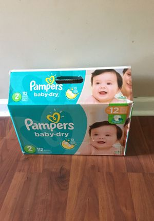 Pampers baby dry size 2 and swaddlers size 1 for Sale in Virginia Beach, VA