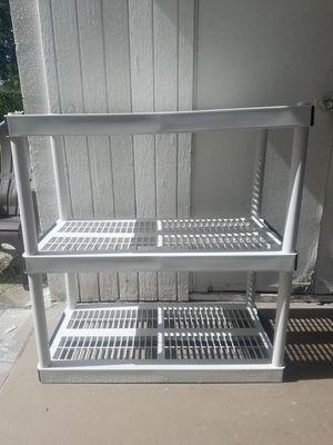 Keter Ventilated Plastic Shelving for Sale in St. Petersburg, FL