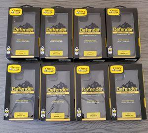 iPhone 11 Otterbox Defender series Case/$15 each (min.order 2 cases) for Sale in Santa Clarita, CA