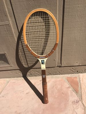 Tennis racket wood Chris Evert Autograph classic wooden Racquet for Sale in Moraga, CA