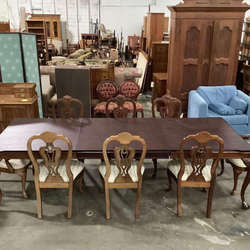 Gorgeous Dark Cherry Thomasville Dining Set - Delivery Available for Sale in Tacoma,  WA