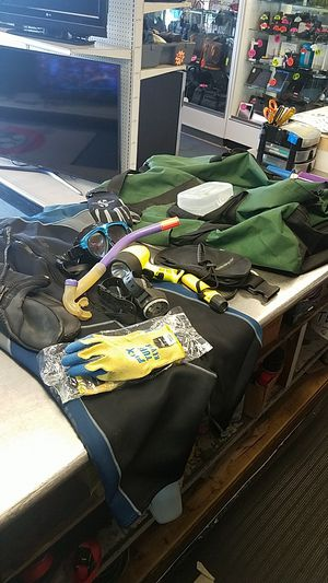 Scuba gear and duffle bag for Sale in Houston, TX