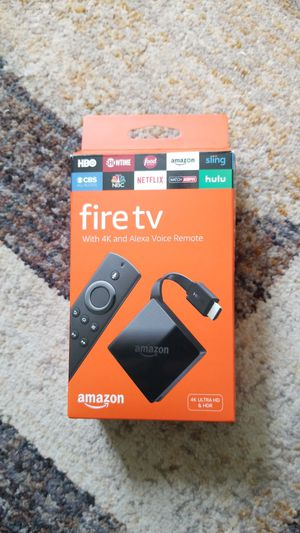 Fire TV 4k voice control bluetooth for Sale in Aitkin, MN