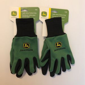 (2) Nwt- John Deere Youth Size Light-duty Garden Outdoor Gloves for Sale in Centreville, VA