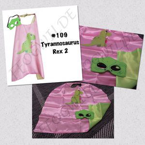 Tyrannosaurus Rex Cape and Mask Set (Great for Easter Baskets!) for Sale in South Jordan, UT
