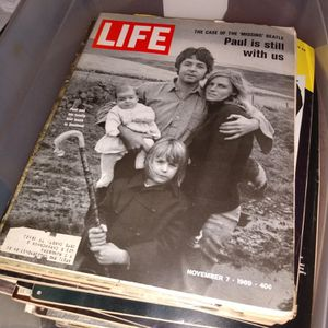 eBay??? Over200 Life Magazine 1967 Through 1969, Cybill Shepherd. Charles Manson. Paul McCartney .Johnny,Many More. Including Vietnam War. for Sale in Spring, TX