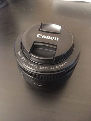Canon 50mm f1.8 STM for Sale in Columbus, OH