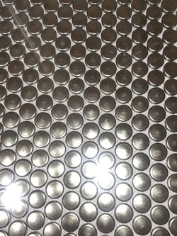 Loft Copper Metallic Penny Round Mosaic Tiles for Sale in Fort Washington,  MD