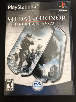 PS2 Game Medal Of Honor European Assault for Sale in Fuquay-Varina, NC