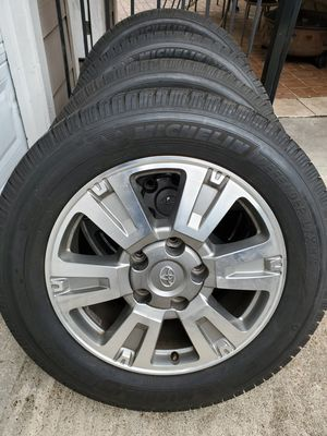 """20"""" Toyota Tundra Sequoia 1794 wheels and tires for Sale in Atascocita, TX"""