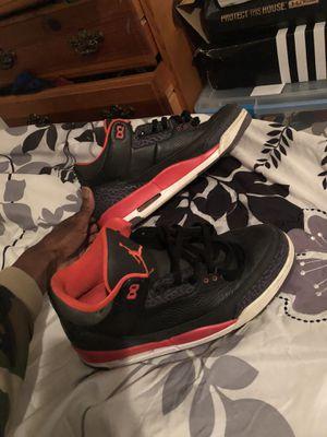 Jordan Retro Crimson 3s sz 11.5 for Sale in Angier, NC