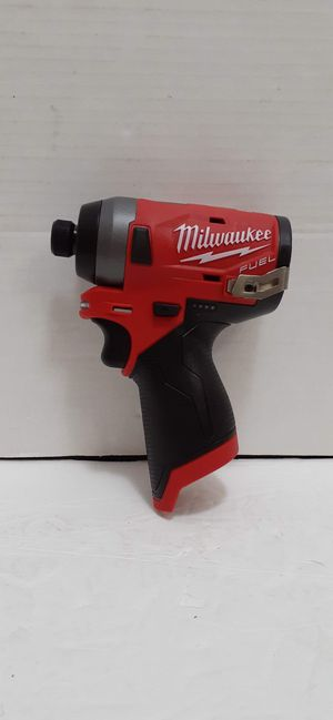 Milwaukee M12 fuel brushless 3rd generation impact drive 3 speed brand new tool only nuevo for Sale in San Bernardino, CA