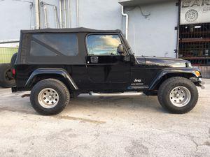 2005 Jeep Wrangler LJ (TJ Unlimited) for Sale in Miami, FL