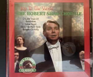 CD JOY TO THE WORLD THE ROBERT SHAW CHORALE for Sale in New Britain, CT