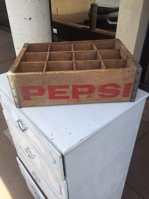 Vintage Pepsi crate for Sale in Santa Ana, CA