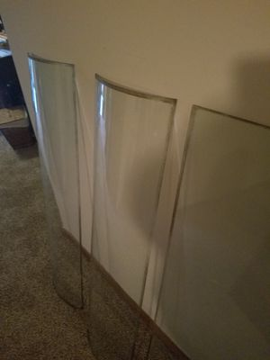 Genuine Antique curved Glass panels. for Sale in O'Fallon, MO