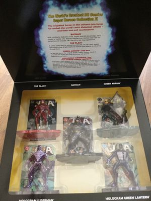 Justice League Of America collectors box 2 action figures for Sale in Freehold, NJ