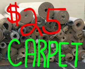 ✔💲FREE $ ✔ Carpet Remnant, Rolls, or Pieces, EMERGENCY!! MUST GO OUT OF BUSINESS!! for Sale in Los Angeles, CA