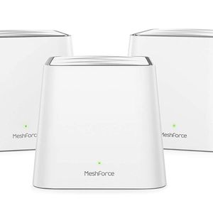 Meshforce Whole Home Mesh WiFi System M3s Suite (Set of 3) – Gigabit Dual Band Wireless Mesh Router Replacement - High Performance WiFi Coverage 6+ Be for Sale in Newark, DE