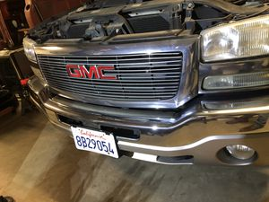 03-07 GMC SIERRA GRILL for Sale in Wasco, CA