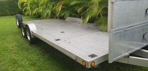 2011 ALUMINUM CAR TRAILER for Sale in Miami, FL