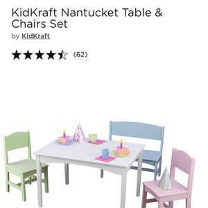 BRAND NEW KIDS TABLE AND CHAIRS SET $100 for Sale in Irving, TX