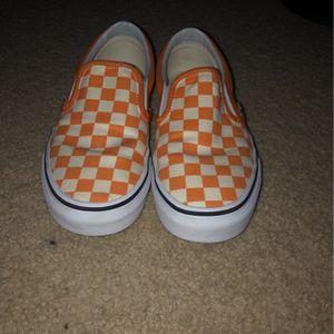 Checkered Orange Vans for Sale in Oxnard, CA