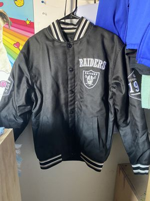 Raiders jacket size small NFL for Sale in Los Angeles, CA