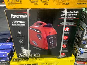 Powermate 2200 generator for Sale in Valrico, FL