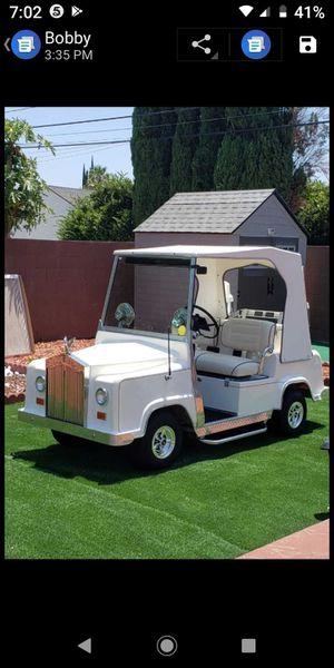 Royal ride rolls Royce golf cart for Sale in Menifee, CA