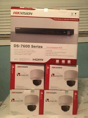 5MP*/DVR & 4 ip professional cameras $270 for Sale in Miami, FL