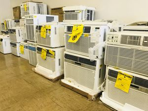 Portable and window AC air conditioner units at heavily discounted prices. Price range is from $119.99 to $699 We have: Portable ACs Window ACs Wall for Sale in Arcadia, CA
