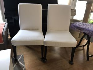 4 IKEA Henriksdal chairs for Sale in Bethesda, MD