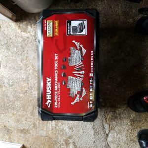 Husky Mechanics Tool Set 270 Piece Set for Sale in Grand Prairie, TX