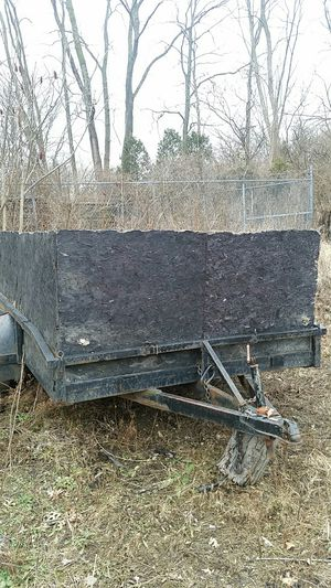 12×8 double axel for Sale in Painesville, OH