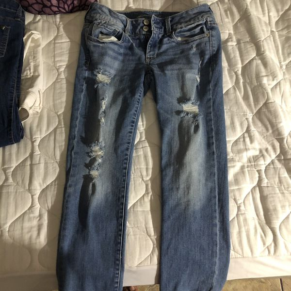 PANTS IN GOOD CONDITION (CHECK ALL MY OTHER OFFERS) Guess, America eagle, express