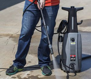 All Power 1800 PSI 1.6 GPM Electric Pressure Washer, Power Washer With Hose Reel for House, Walkway, Car and Outdoor Cleaning, APW5004 for Sale in Stafford, TX