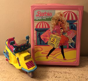 1990's Barbie Accessory holder and Scooter for Sale in Los Angeles, CA