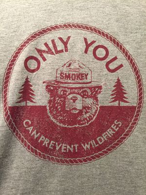 Smokey the Bear t-shirt xs for Sale in Tigard, OR