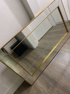 Gold frame wall mirror for Sale in Los Angeles, CA