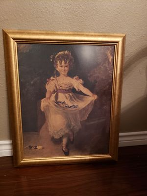 Beautiful painting in gold frame. for Sale in San Angelo, TX